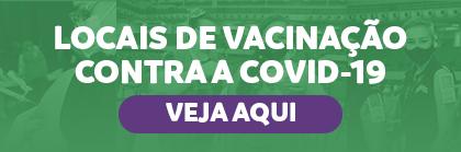 Banner Locais de vacinação em Manaus - AM